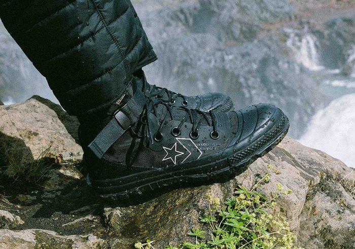 62985d117678 下架2018 11月Converse Fastbreak MC18 Gore-Tex 防水軍靴子黑色162586C
