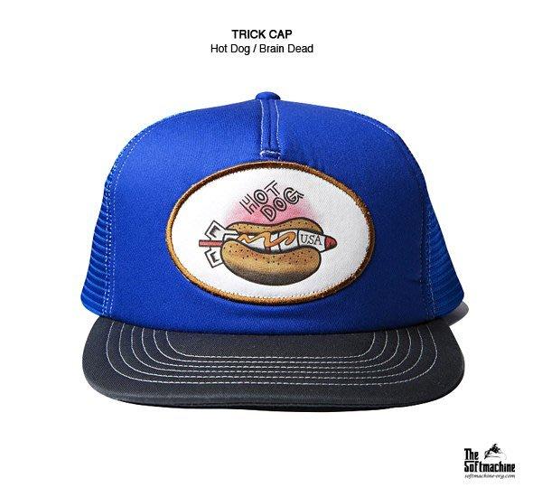 GOODFORIT / 日本刺青品牌Softmachine TRICK CAP Hot Dog熱狗貼布網帽