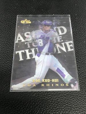 中華職棒球員卡 義大 富邦悍將 高國輝 王者之路3D卡 AT08 限量編號264