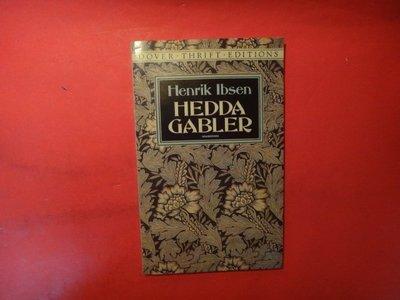【愛悅二手書坊 02-35】Hedda Gabler (Dover Thrift Editions)