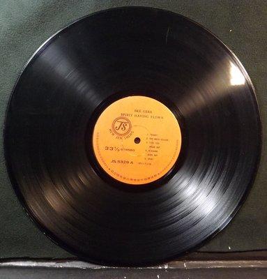 黑膠唱片 BEE GEES-SPIRIT HAVING FLOWN~無封套及歌詞~10IL05~