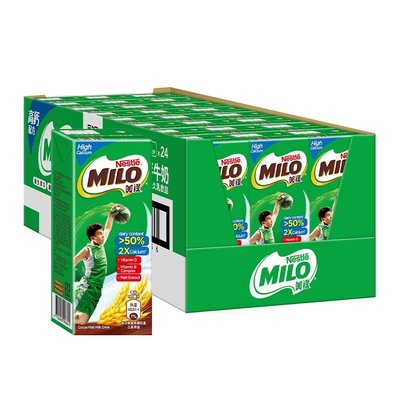 【Visual&M】美祿高鈣可可麥芽乳飲品 198毫升24入 好市多代購 Costco
