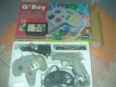 早期全新庫存品台灣出的電玩 Q'B0y不附卡帶