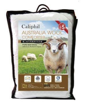 COSTCO好市多代購~CALIPHIL 澳洲純天然羊毛被/羊毛冬被-雙人(182x212cm)特價