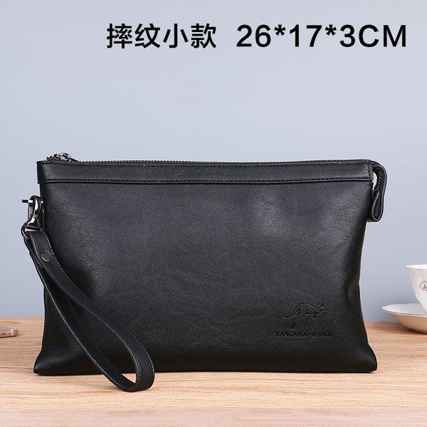 澳洲名牌 KANGAROO 袋鼠潮男平板包  手機包 時尚韓版男士手拿包