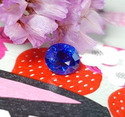 揚邵一品(附國際證)1.06克拉皇家藍藍寶石 超美的濃豔正藍色 怦然心動的貴氣皇家質感 喜歡皇家藍的朋友千萬別錯過