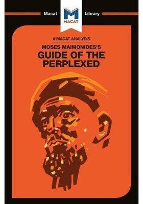 【中商原版】迷途指津(MACAT解讀系列)英文原版 Moses Maimonides's Guide of the Perplexed