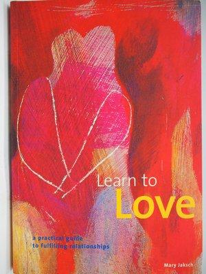 【月界】Learn to Love:Guide to Fulfilling Relationships 〖心理〗AIO
