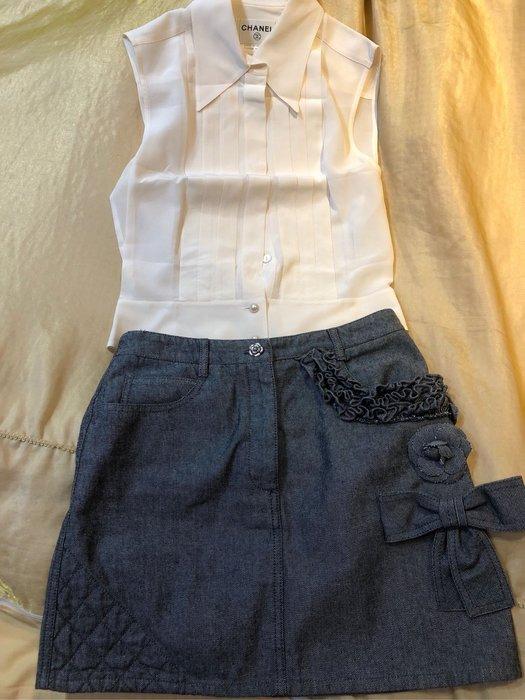 Chanel 超美珍珠雪紡衫🌻