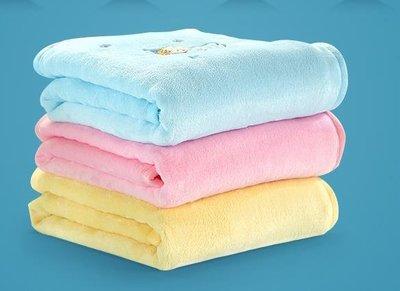 笑巴喜嬰兒毛毯兒童毛毯子四季新生寶寶蓋肚子小被子蓋毯夏涼薄款