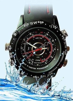 800萬像素 內建高容量8GB 防水運動手錶 針孔錄影筆 高清晰畫質30幀不殘影