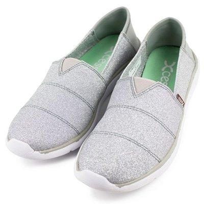 =CodE= XCESS CLASSIC 帆布休閒鞋(星空銀粉銀灰) GW049-PIN TOMS 娃娃鞋 樂福鞋 女