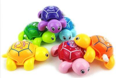 海馬寶寶 上鍊發條小烏龜 呆萌龜 小小龜 爬行烏龜 發條玩具 不挑色