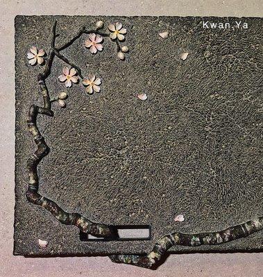 許藝獻 櫻花 乾式泡法茶盤 系列 限量 茶盤 石盤 石雕 茶道具 藝術 文創 當代藝術 非 鄭階和 洪易 草間彌生 櫻