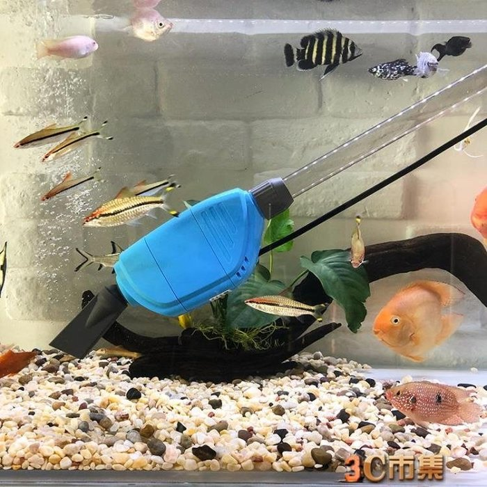 魚缸換水器電動吸便水族箱自動加水洗沙吸魚糞清理魚便吸污抽水泵
