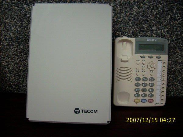 電話總機專業網...7台10鍵顯示免持對講型話機+東訊SD/DX-616A電話系統...新品新款
