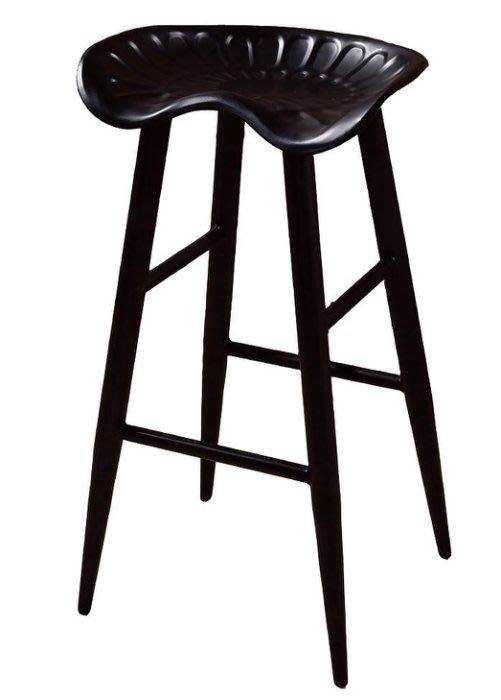 【DH】商品貨號N490-6商品名稱《可庫拉》造型吧台椅(圖一)工業風時尚.輕巧/實用.新品特價