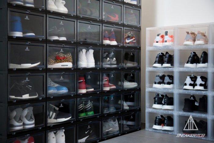 【高冠國際】SNEAKER MOB SNEAKER BOX 球鞋 收藏箱 鞋盒 收納 展示盒 黑色 6件組
