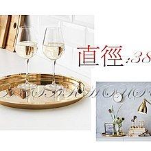 ╭☆凱薩小舖☆╮【IKEA】GLATTIS 托盤, 黃銅色 38 公分