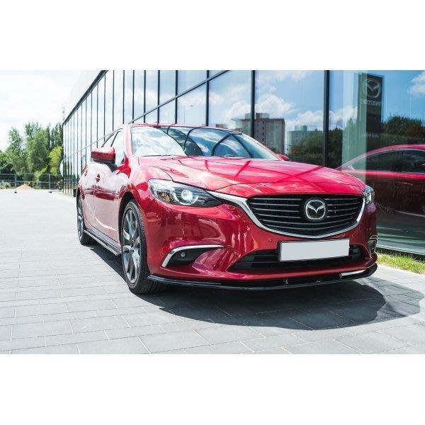 波蘭 Maxton Design 下擾流 側擾流 後擾流 定風翼 尾翼 下包 大包 Mazda 全車系 專車 專用