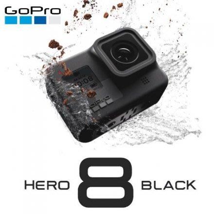 大元.新北【送64G卡】GoPro HERO 8 HERO8  Black 黑色 4K60 FPS 台灣公司貨 現貨