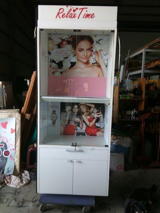 大高雄冠均二手貨家具(全省收購)---3尺  展示櫃     玻璃展示櫃     收納櫃     置物櫃     別錯過