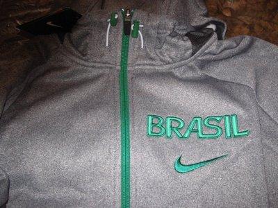 NIKE 2012 倫敦奧運  BRASIL  巴西隊 男籃  外套 M號 KOBE LBJ