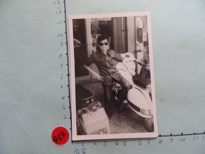 老機車,(偉士牌)摩托車,古董黑白,照片,相片3
