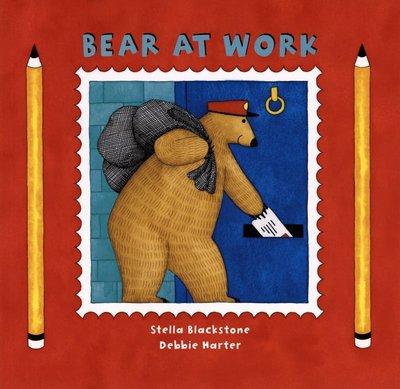 *小貝比的家*BEAR AT WORK/平裝/3~6歲/ 職業 Community Helper