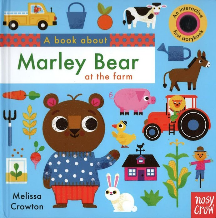 *小貝比的家*A BOOK ABOUT MARLEY BEAR AT THE FARM/硬頁翻翻書/3~6歲