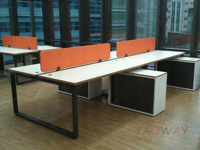 【耀偉】OTTO系統工作站 (辦公桌/辦公屏風-規劃施工-拆組搬遷工程-組合隔間-水電網路)12