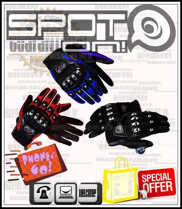 Spot ON - MADBIKE - MAD10C 手套 不鏽鋼合金硬式! 1098 R TB 晶鑽 MAD10 環島