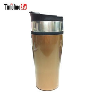 Timolino典藏 隨身杯460ml 咖啡金(304不鏽鋼保溫杯) 原廠專賣