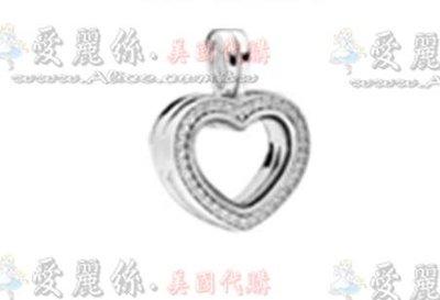 【愛麗絲精品代購】Pandora 潘朵拉 鑲鑽新款愛心盒(內可裝飾品)吊墜珠 925純銀珠 澳洲精品代購