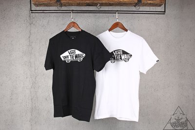 【HYDRA】Vans Off The Wall Logo T-Shirt滑板 素面 經典 TEE 短T 【VNS09】