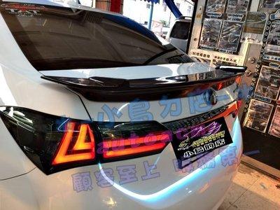 (小鳥的店)豐田 2017 ALTIS X版 11.5代 類86式樣 尾翼 專車專色 報價含烤漆 可到府安裝