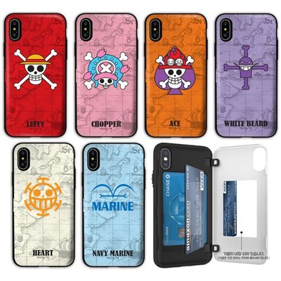 海賊王 防摔側開卡夾 手機殼│iPhone X XS MAX XR 11 Pro│z9107