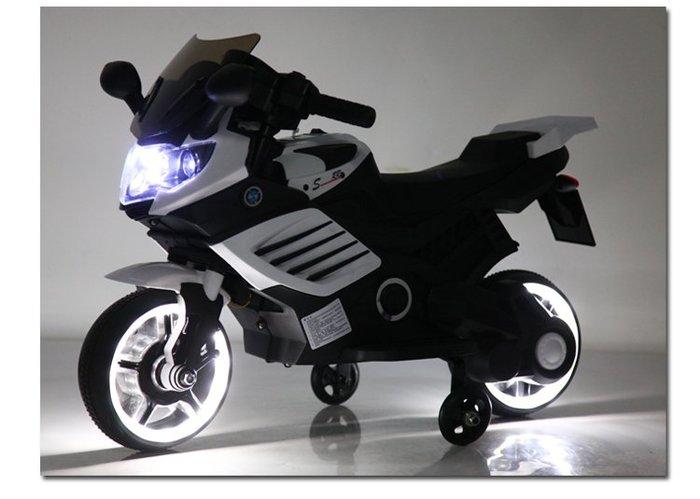 【阿LIN】800149 1000摩托車 重機 兒童電動車 機車 兒童騎乘 電動機車 歐兜麥 重機模型 白色