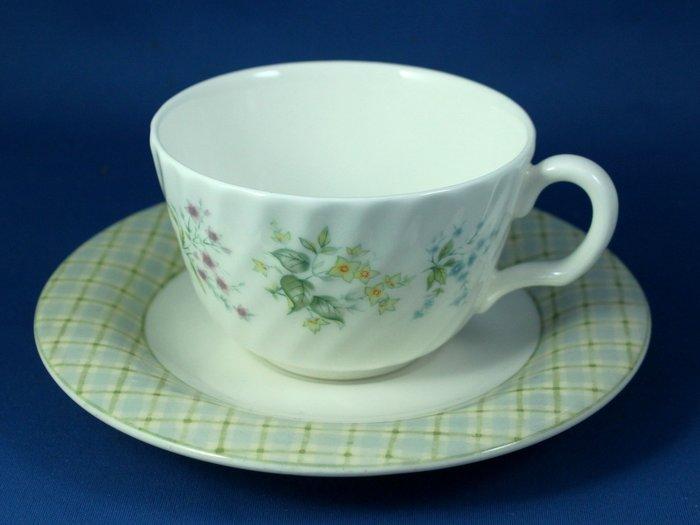 [美]英國百年名瓷MINTON骨瓷茶杯/咖啡杯二用杯盤組SPRING VALLEY+COTSWOLD