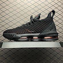 Nike LeBron 16 LBJ16 What The 黑紅 百搭 氣墊 中筒 籃球鞋 AO2595-002 男鞋