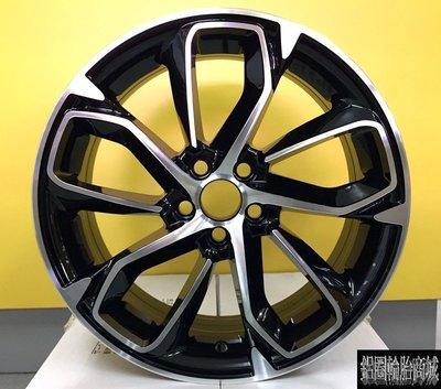 【CS-6574】全新鋁圈 類 原廠 紐柏林特仕版 ALTIS 17吋鋁圈 黑底車面 5/100 5/114.3