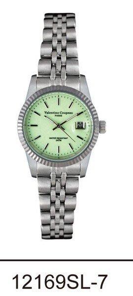 (六四三精品)Valentino coupeau(真品)(全不銹鋼)精準女錶(附保証卡)12169SL-7