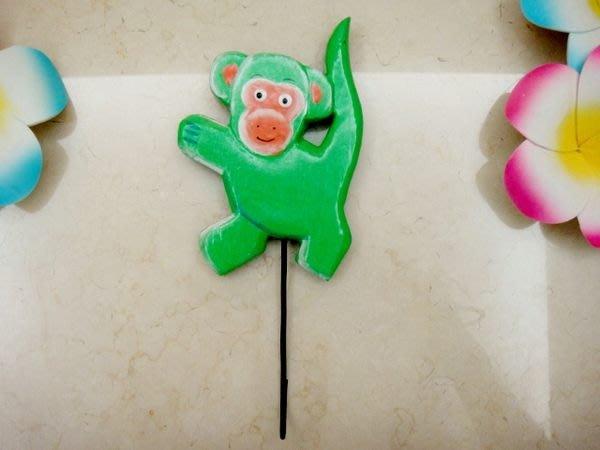 Y【永晴峇里島】巴里島風猴子造型掛勾,衣架,居家、民宿、飯店都好用-掛勾9@