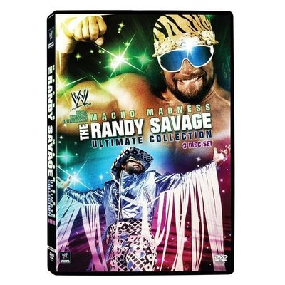 ☆阿Su倉庫☆WWE摔角 Macho Madness - The Randy Savage Ultimate Collection DVD 精選特輯 特價熱賣中