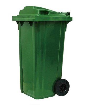 【上丞辦公家具】台中免運 120公升兩輪式資源回收垃圾桶 垃圾清運子車 資源回收車 垃圾分類 環保子車 腳踏式 二輪拖桶