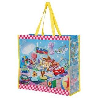 日本 東京海洋迪士尼 園區限定 皮克斯耐用購物袋