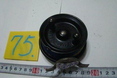 采潔 日本二手外匯釣具  富士輪25Fuji  前打輪 牛車輪 日本製  二手釣具 釣竿 捲線器 編號K75