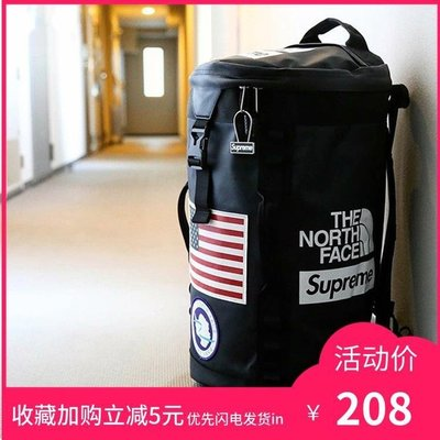Supreme 17ss TNF Big Haul Backpack聯名雙肩包背包書包桶包登山
