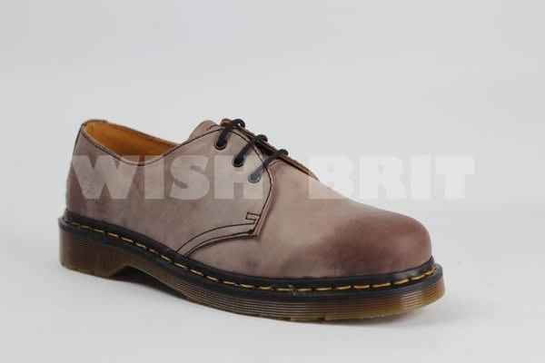 【~希望~完美馬汀】Dr.Martens 1461 3孔 ~七天鑑賞免運~ 復古 油蠟 棕色 馬汀靴 男女鞋