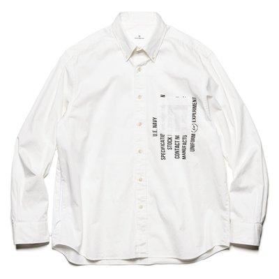 【日貨代購CITY】 uniform experiment CONCEALED POCKET BIG B.D SHIRT